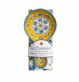 Le Cadeaux Spoon Rest With Matching Tea Towel Gift Set Benidorm