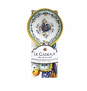 Le Cadeaux Spoon Rest With Matching Tea Towel Gift Set Florence