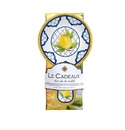 Le Cadeaux Spoon Rest With Matching Tea Towel Gift Set Lemon Basil