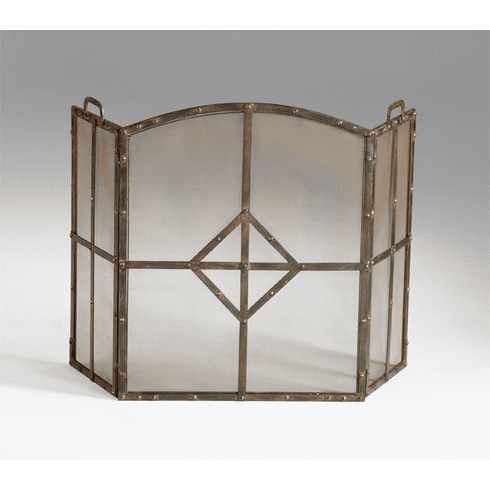 Lincoln Fireplace Screen by Cyan Design
