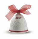 Lladro 2019 Christmas Bell (Re-Deco Red)