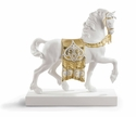 Lladro A Regal Steed (Re-Deco Golden) Figure