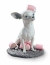 Lladro Chihuahua With Marshmallows Figure