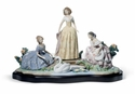 Lladro Daydreaming By The Pond Figure