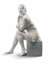Lladro In My Thoughts Figure