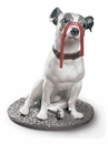 Lladro Jack Russell With Licorice Figure