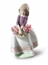Lladro May Flowers Special Edition Figure