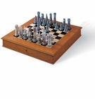 Lladro Medieval Chess Set (Board Box Included)