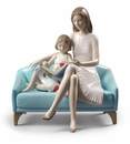 Lladro Our Reading Moment Figure