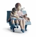 Lladro Surrounded By Love Porcelain Figurine