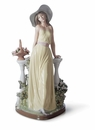 Lladro Time For Reflection Figurine