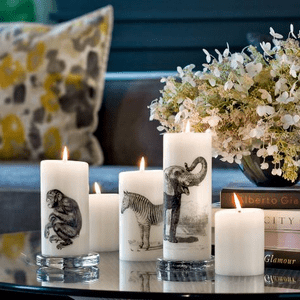 Lucid Copperplate Design Candle Collection