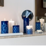 Lucid Indigo Blue Candles