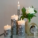 Lucid Liquid Candles -  1x11 Black on Natural Grace Lace Dinner Candle