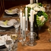 Lucid Liquid Candles -  1x11 Fork & Knife Natural Dinner Candle