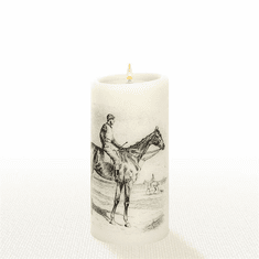 Lucid Liquid Candles - 3x6 Race Day Natural Pillar Candle
