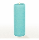 Lucid Liquid Candles - Azure 3x8 Pillar Candle