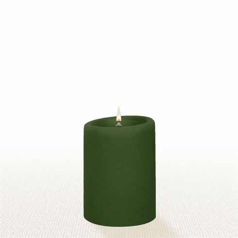Lucid Liquid Candles - Cypress 3x4 Pillar Candle