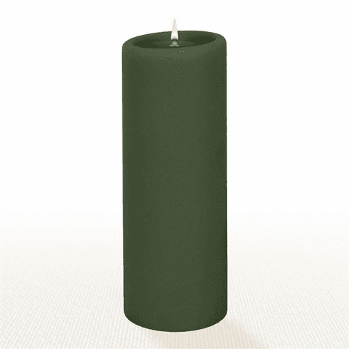 Lucid Liquid Candles - Cypress 3x8 Pillar Candle