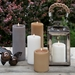 Lucid Liquid Candles -  Gray 3x6 Pillar Candle