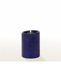 Lucid Liquid Candles -  Indigo 3x4 Pillar Candle