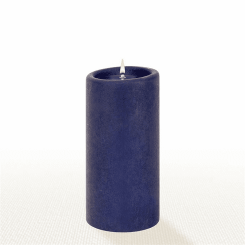 Lucid Liquid Candles - Indigo 3x6 Pillar Candle