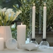 Lucid Liquid Candles -  Natural 1x11 Dinner Candle