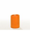 Lucid Liquid Candles - Orange 3x4 Pillar Candle