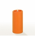 Lucid Liquid Candles - Orange 3x6 Pillar Candle