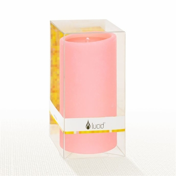 Lucid Liquid Candles - Peony 3x6 Pillar Candle