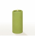 Lucid Liquid Candles - Pistachio 3x6 Pillar Candle