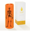 Lucid Liquid Candles Skeletons 3x6 Pillar Candle