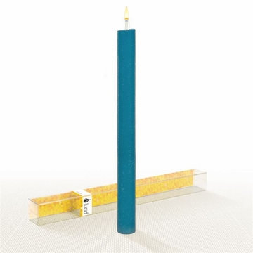 Lucid Liquid Candles - Teal 1x11 Dinner Candle