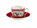 Lynn Chase Winter Game Birds Red Cup