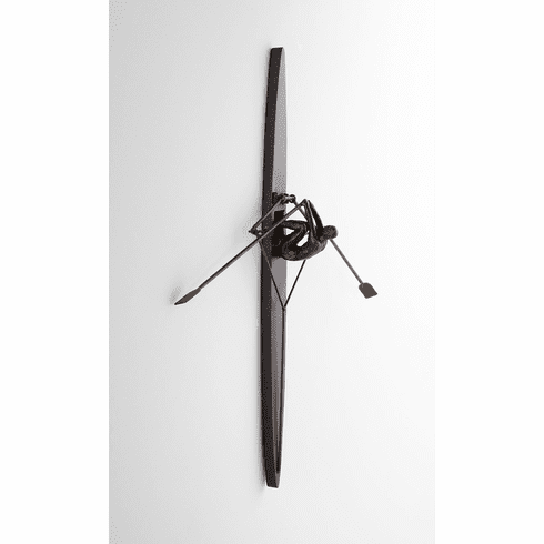 Man Rowing Scull Wall Decor by Cyan Design