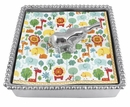 Mariposa Elephant Beaded Napkin Box