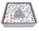 Mariposa Flat Tree Beaded Napkin Box