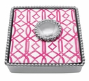 Mariposa Monkey Beaded Napkin Box