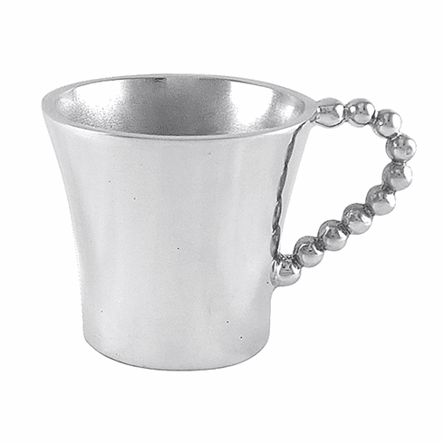 Mariposa Pearled Baby Cup
