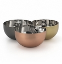 Mary Jurek Arroyo 3 Color Interlocking Bowls with Blue Box