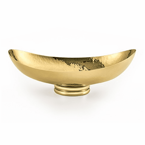 Mary Jurek El Dorado Brass Oval Bowl