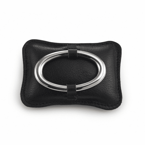 """Mary Jurek Omega Leather Paper Weight 3.5"""" x 5"""""""