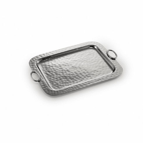 """Mary Jurek Omega Serving Tray with Ring 18.5"""" x 14.25"""""""