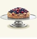 Match Italian Pewter Cake Stand