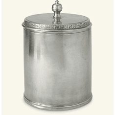 Match Italian Pewter Canister Large
