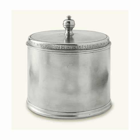 Match Italian Pewter Canister Medium