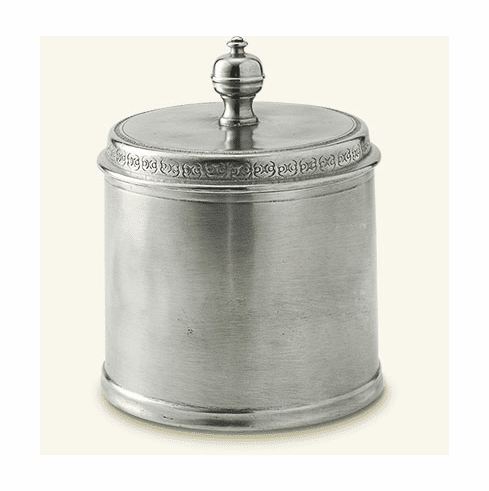 Match Italian Pewter Canister Small
