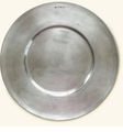 Match Italian Pewter Cardinal Charger