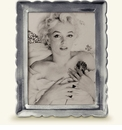 Match Italian Pewter Carretti Rectangle Frame Large