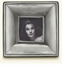 Match Italian Pewter Como Square Frame Small